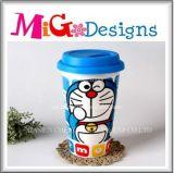 熱い販売美しいデザインCramicのThermochromicマグ