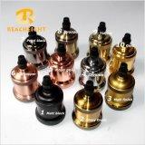 Suporte da lâmpada retro do bronze do vintage do soquete de lâmpada do metal do suporte de bulbo do UL SAA E14 E26 E27 do Ce