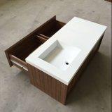Раковина тазика мытья ванной комнаты тазика шкафа смолаы каменная