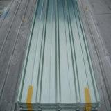 Folhas translúcidas da telhadura de FRP/folha plástica ondulada transparente da telhadura/coberta de telhado plástica desobstruída