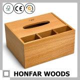 Твердая коробка хранения древесины бука для домашнего Desktop украшения