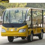 Automobile facente un giro turistico elettrica di golf delle sedi di colore giallo 8 da vendere