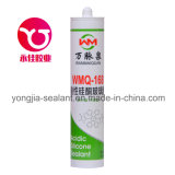 Puate d'étanchéité adhésive en verre acétique d'usage universel de silicones (WMQ-168)