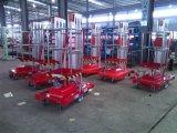 125kgs Platform van het Werk van het aluminium het Lucht