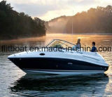 7.3m 24FT Basic Fiberglass Open Boat para esporte e pesca