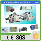 SGS Aprobado Roll Alimentación Square Bottom bolsa de papel que hace la máquina