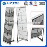 Visualizzazione di alluminio del basamento del supporto dell'opuscolo della fiera commerciale (LT-05A)