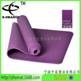 De Douane van de Matten van de Yoga TPE met het Dragen van Riem wordt afgedrukt die