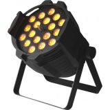 段階の照明のための新しい18X18W 6in1 RGBWA+UVのズームレンズLEDの同価ライト