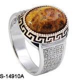 Nieuwe Modellen 925 de Echte Zilveren Ring van Mensen met Steen