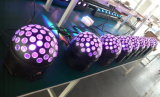 Luz de giro das esferas do dobro quente clássico do DJ do efeito do diodo emissor de luz para a iluminação do disco