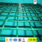 Engranzamento de fio frisado revestido PVC rápido da expedição
