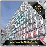 Comitato perforato di alluminio moderno della facciata della lamiera sottile per la parete divisoria
