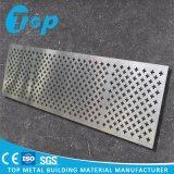 Strato perforato dell'alluminio artistico fornito fabbrica per il rivestimento della parete esterna