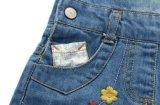 Kind-Mädchen-Form-Sommer-Denim umsäumt Mädchen-Klammer-Kleid