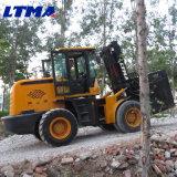 Forklift Diesel novo do terreno áspero de 10 toneladas de Ltma para a venda