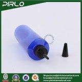 Plastiktropfenzähler-Flasche des blauen leeren Haustier-250ml mit  Einhorn-Torsion-Schutzkappen-Flasche