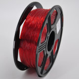 Bon filament 1.75mm normal flexible enroulant de l'impression 3D