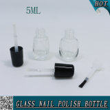 5ml effacent la bouteille en verre vide pour le vernis à ongles de gel