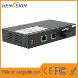 2つのイーサネットおよび1つのファイバーポートギガビットのネットワークスイッチ