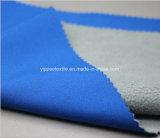De Stof van Softshell (de in entrepot microfiber vacht van de polyesterpongézijde fabric+ TPU)
