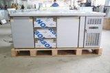 Réfrigérateur professionnel de comptoir à salades d'acier inoxydable avec du ce