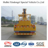16m Dongfeng 360° Camion dell'antenna della piattaforma di rotazione