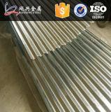 波形の鋼板のシートによって電流を通される屋根ふき