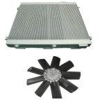 Ventilatorflügel Assenbly für Kompressor-Kühlvorrichtung-Luftverdichter-Teile