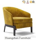 Poltrona su ordinazione del sofà del blocco per grafici di legno della mobilia del salone singola (HD531)