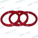 Rubber O-ring en Mechanische die Verbindingen voor Medische de Industrie en Luchtruim in Aeromat wordt gemaakt