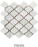 Каменная плитка пола формы фонарика мозаики (FYSL386)