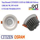 MAZORCA 2017 del ciudadano de Shenzhen 40W IP44 LED Downlight con el programa piloto de Osram