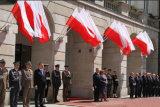 カスタムSunproofの国旗のポーランドの国旗モデルNo.防水すれば: NF-006