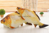 подгонянные печатание подушки рыб плюша 3D