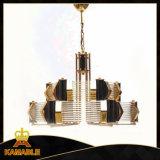 Moderne Beleuchtung-Messinghängende Kristalllampen (KAP6038)