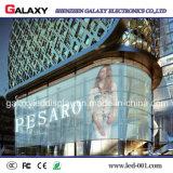 Pantalla al aire libre/ventana LED de visualización video/el panel/muestra/pared transparentes P5-8/del vidrio de interior
