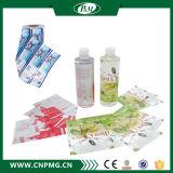 Étiquette faite sur commande de chemise de rétrécissement de chaleur de PVC de taille