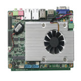ワークステーション単一の入力DC電源、12VDCが付いている内蔵CPUのマザーボード