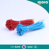 Связь застежка-молнии размеров обручей связи Китая оптовая белая Nylon