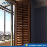 Volets de fenêtre en bois réglables