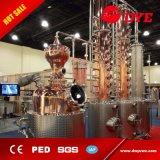 500L cobre rojo 20plates Whisky Brandy Gin Vodka Ron destilería