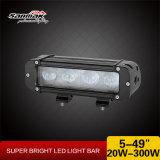 """10-60V impermeable 8 """" 40W LED de la barra ligera del punto del camino"""