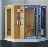シャワー(AT-D8857-1)との1800mmの蒸気によって結合されるサウナ