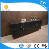 Alto scaffale di buona qualità di disegno contemporaneo con il cuoio del PVC (S603)