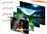 새로운 Luxcine C5d 가정 극장 DLP LED 소형 영사기 1080P 지원 휴대용 제 제 3D 500 루멘