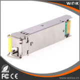 Kompatible 100BASE-BX 1550nm TX/1310nm RX 80km SFP Lautsprecherempfänger-Baugruppe Cisco-