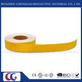 소통량 (CG5700-OY)를 위한 주문 마이크로 프리즘 노란 사려깊은 물자 테이프