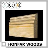 Baseboard вспомогательного оборудования пола деревянный обходя для здания гостиницы