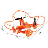 En71 het UFO Toy van Approval 2.4G 6 Channel Mini R/C met Light en Gyro (10232109)